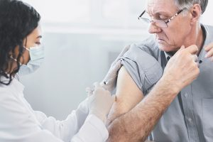 flu jab man 300x200 - Flu jabs – Call to Over 65s to get vaccinated